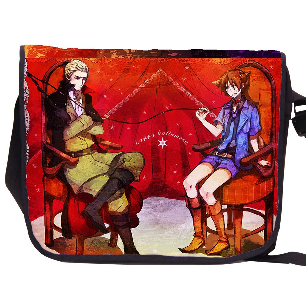 Siawasey Axis Powers Hetalia Anime Cartoon Messenger Bag Shoulder Bag