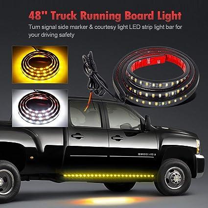 Running board strip light
