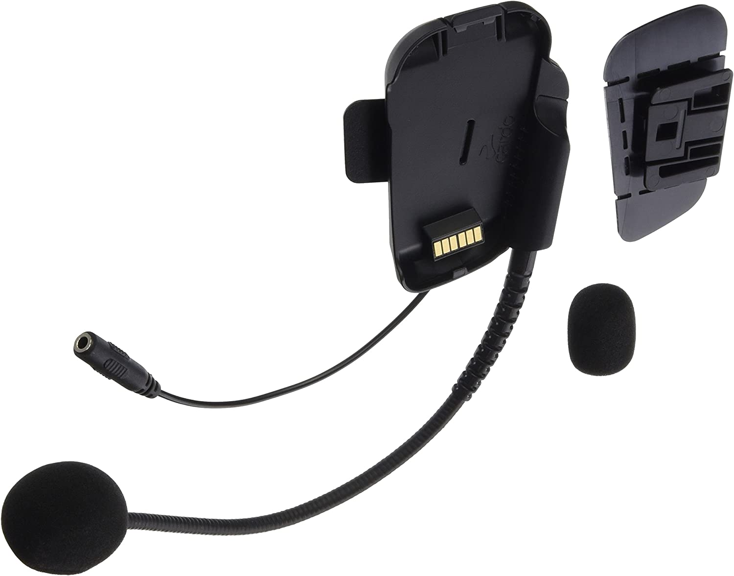 for PackTalk and SmartPack Systems Black Single Pack scala rider SPPT0002 Cardo Unisex-Adult Boom Microphone Cradle