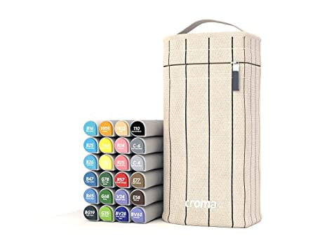 Amazon.com: Rotuladores Croma Lite de doble punta, punta de ...