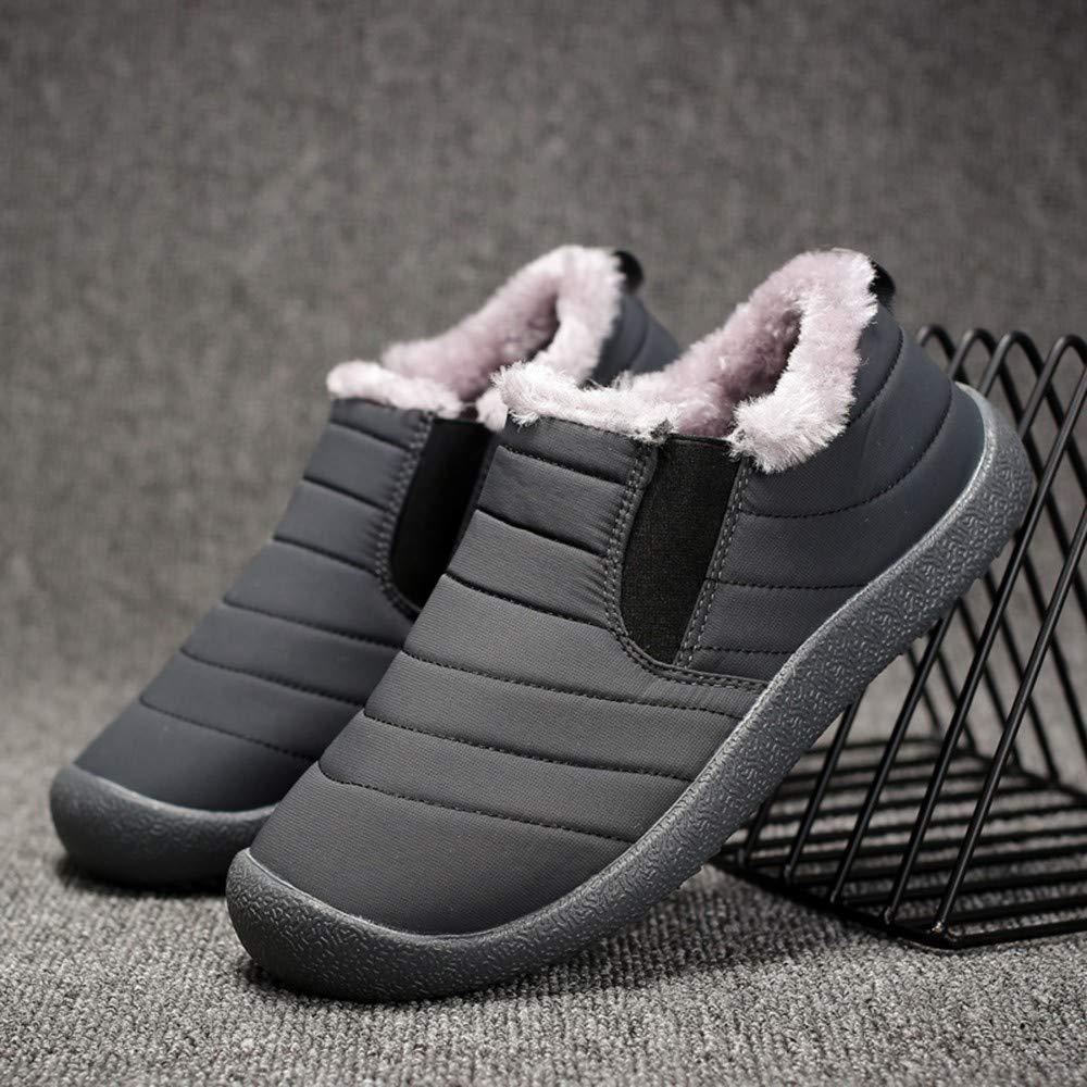 38b8d4c1609 Zzzz Chaussure Homme Ville Durable DéContractéE Mode Confortable RandonnéE  Loisirs Travail Chaussures dhiver pour Hommes en ...
