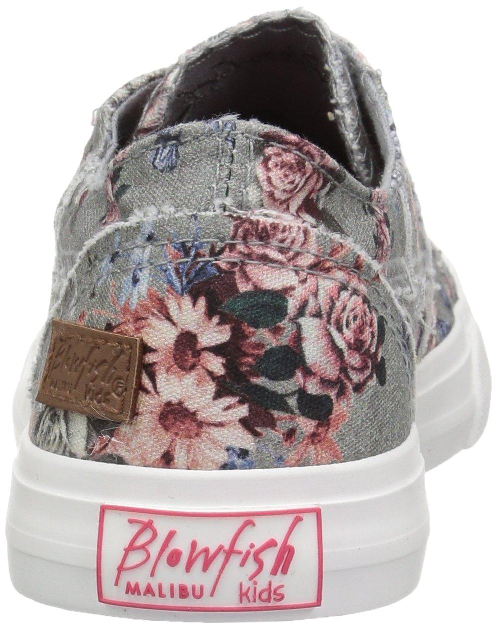 Blowfish Kids Girls' Marley-k Sneaker, Drizzle Grey Love Letter, 3 Medium US Little Kid by Blowfish (Image #2)