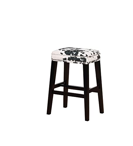 Linon Stool, Black