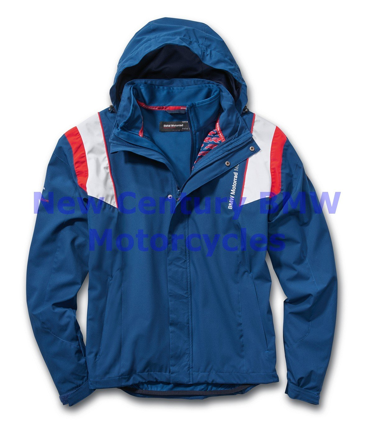 BMW Genuine Motorcycle Unisex Motorsport Riding Jacket Blue/White/Red M Medium