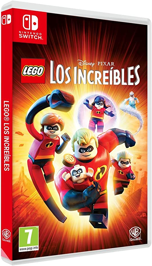 LEGO Los Increibles - Edición Exclusiva Amazon - Nintendo Switch ...