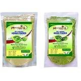 MALVANIYA HERBAL CARE Indigo Henna Hair Powder Pack (2 X 227g)