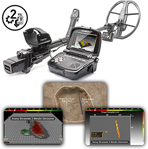 Nokta Makro Invenio Professional Metal Detector Pro Package 3D Intelligent Imaging System Multi Frequency Artificial Intelligence