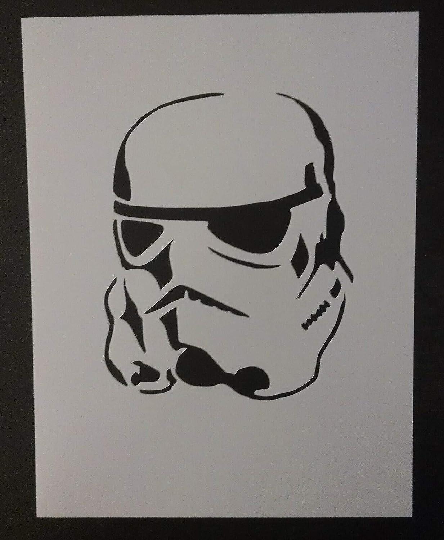 Stormtrooper Storm Trooper 8.5 x 11 Custom Stencil Buddstore