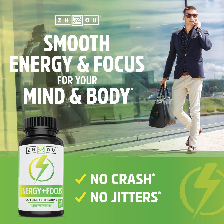 Amazon.com: Cafeína con L-Theanine para una energía y ...