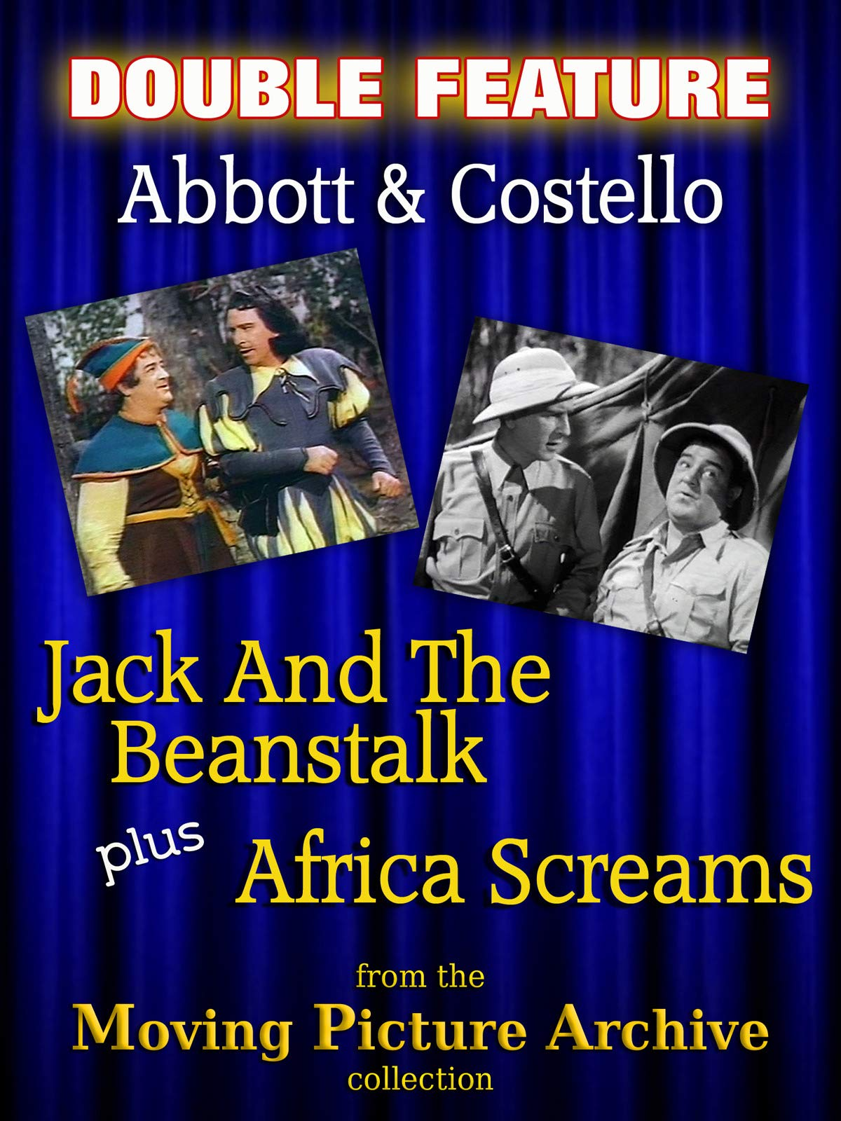Abbott & Costello Double Feature - Jack And The Beanstalk & Africa Screams on Amazon Prime Video UK