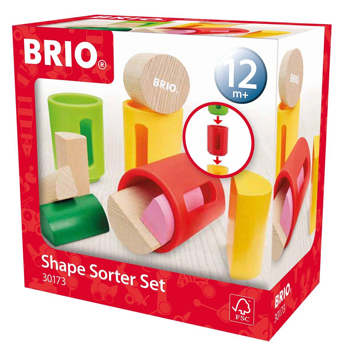 Brio Infant & Toddler - Shape Sorter Set