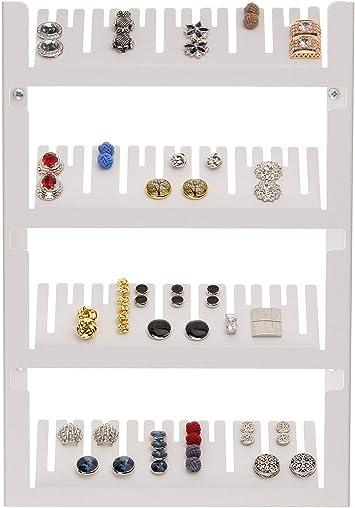 Velvet Jewelry Storage Box Organizer Case Cufflinks Cuff Link Display Holder New