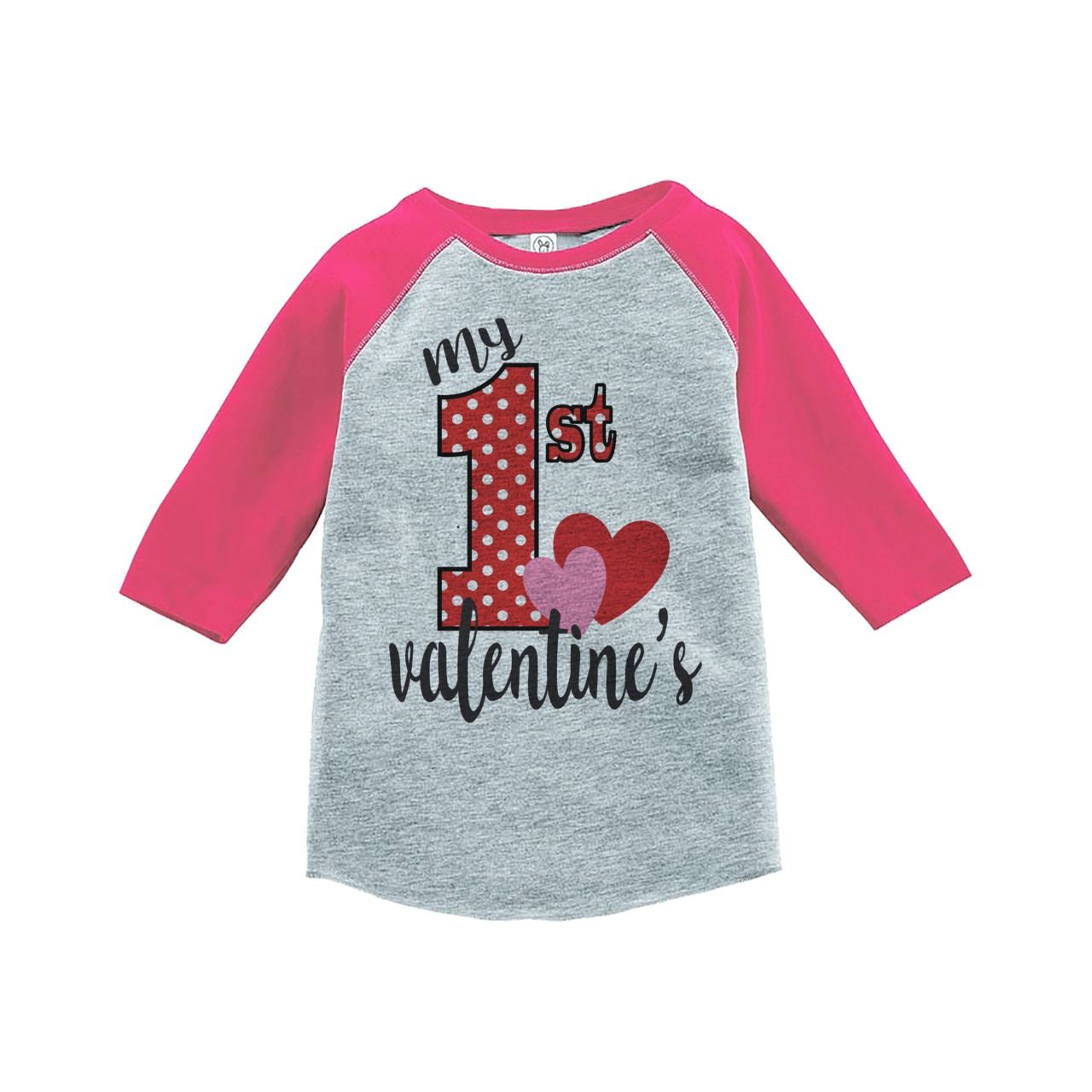 Custom Party Shop Girls My 1st Valentines T-shirt