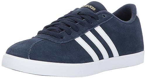 adidas Frauen Aw4288 Fashion Sneaker Blau Groesse 8 US 39