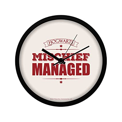 Mc Sid Razz Harry Potter Wall Clock Of Mischief