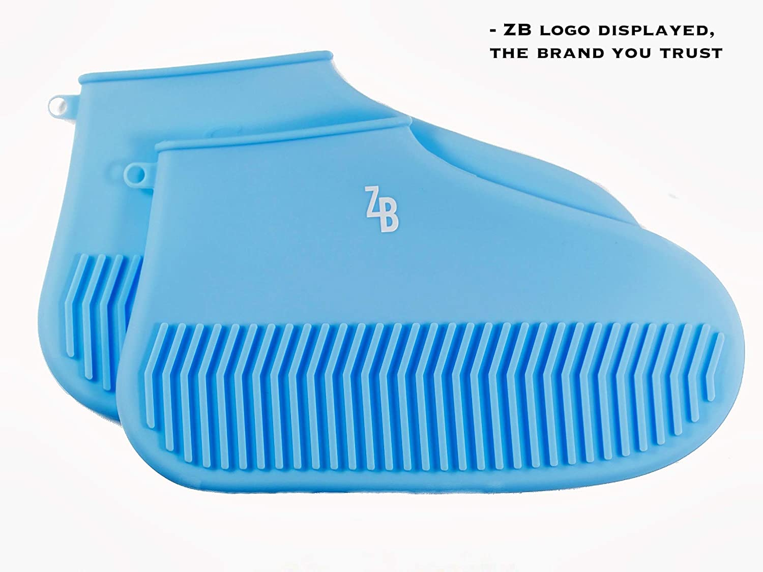 Indoor Outdoor Dust Proof Clean Stretch Booties Protector Boots Shoes ZestyBus Silicone Shoe Cover Rain Mud Dirt Snow Rubber Silicon Waterproof Reusable Non Slip Men Women Kids Durable