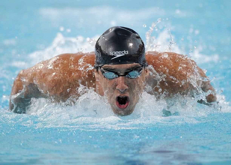 "Michael Phelps Swimming Sport Art Print 24/""x13/"" Poster 011"