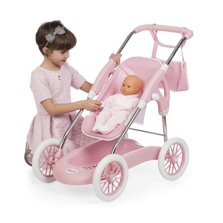 Cochecito rosa Combi 3en1 plegable de Inglesina para muñecos (Smoby 250582): Amazon.es: Juguetes y juegos