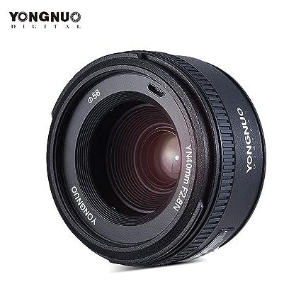 Amazon com : YONGNUO YN40mm F2 8N 1:2 8 Standard Fixed Prime