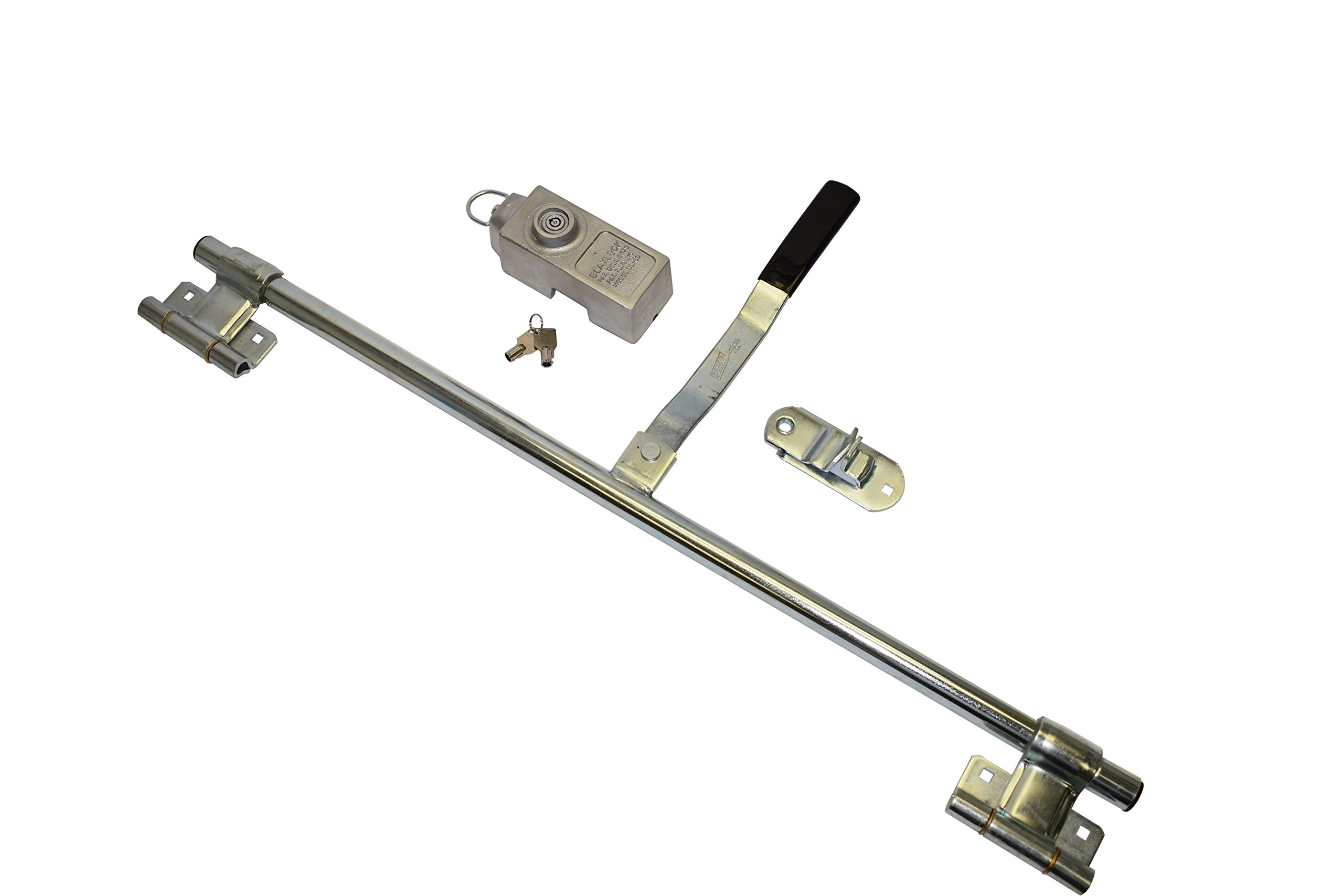 36 Inch Trailer Side Door Lock With Padlock