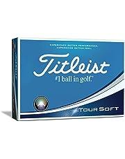 Titleist Tour Soft - Pelotas de Golf (12 Unidades)
