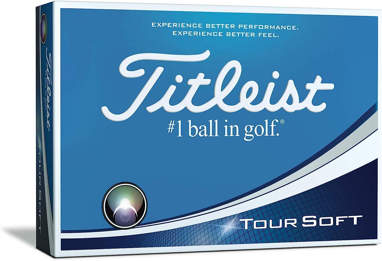 Titleist Tour Soft Golf Balls (One Dozen)