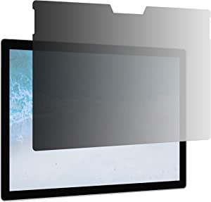 """AmazonBasics Slim Privacy Screen Filter for 13.5"""" Microsoft Surface Book 1 / 2, Antimicrobial, Anti Glare UV & Blue Light Filter (13.5 inch, 11.4"""" x 7.8"""")"""