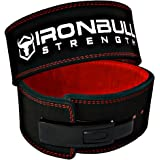 PowerLifting Lever Belt - 13mm Power Weight Belt - 4-inch Wide - Heavy Duty for Extreme Weight Lifting