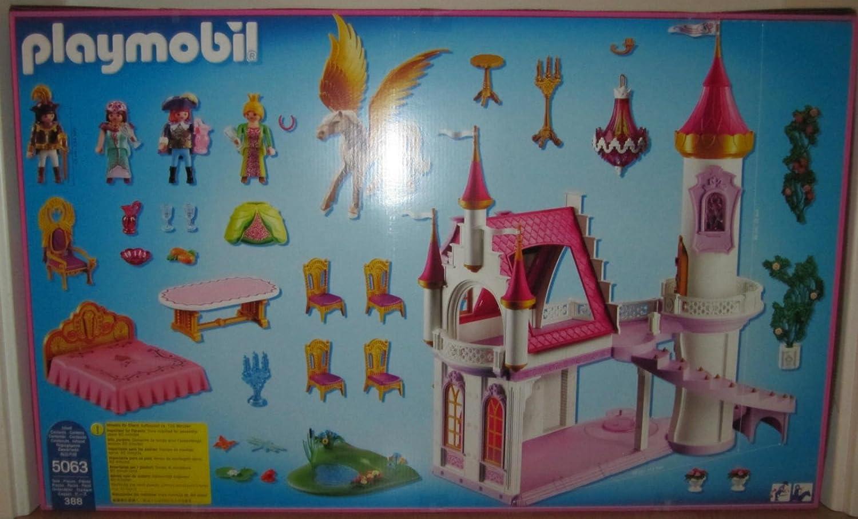 playmobil ch/âteau de princesse avec Pegasus 5063