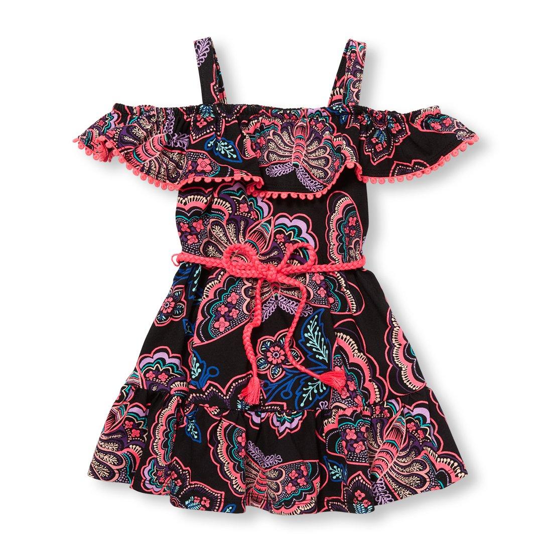 The Children's Place DRESS 4T ベビーガールズ 4T Children's Black The 96947 B076DRYBXH, おかしやさん:2342c360 --- sharoshka.org