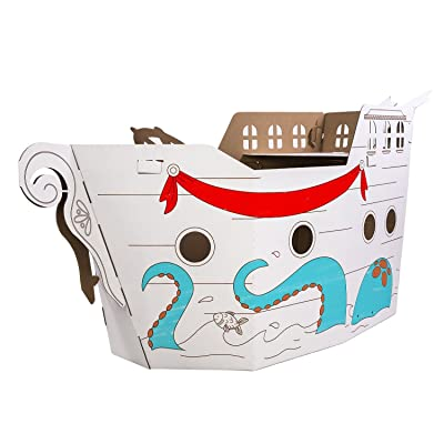 Box Creations Corrugated Pirate Ship