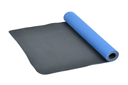 FA Sports Yogiplus Esterilla de Yoga con 2 Lados Reversibles, Unisex Adulto