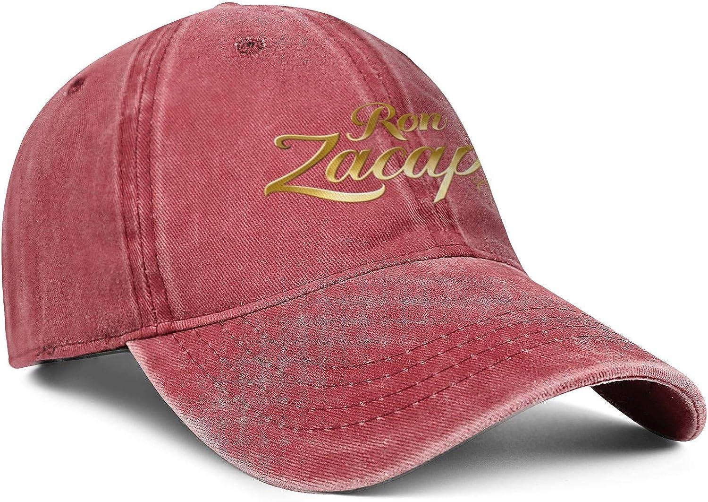 Heart Wolf Zacapa-Rum-Logo Womens Mens Washed Cap Hat Mesh Baseball Cap Tennis Cap Military Cap Bucket Hat Dad Cap