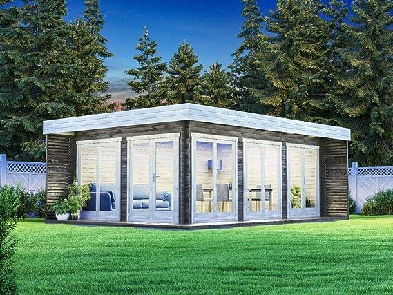 Carlsson Alpholz - Lounge de jardín Viva B de madera maciza, casa ...
