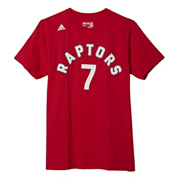 8d085aa83e6 adidas AS9333 The Go to Tee Toronto Raptors #7 Kyle Lowry (Red/White -  XXL), Sports & Outdoors - Amazon Canada