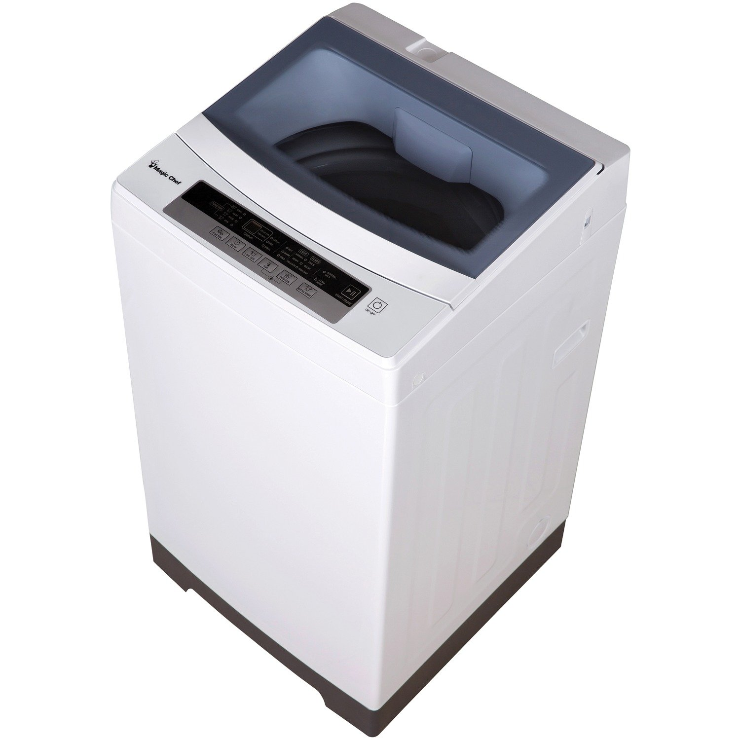 1.6 Cu. Ft. Compact Top-Load Washer in White Magic Chef MCSTCW16W4