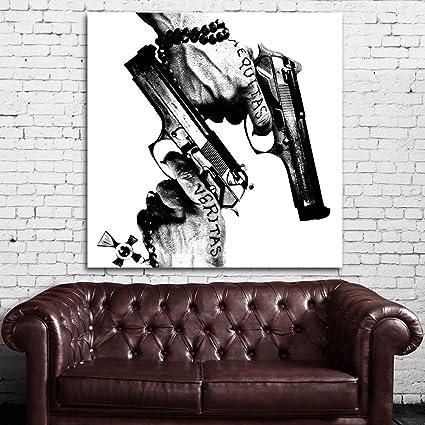 Amazon.com: #01 Poster Mural Boondock Saints Movie 36x36 inch (90x90 ...