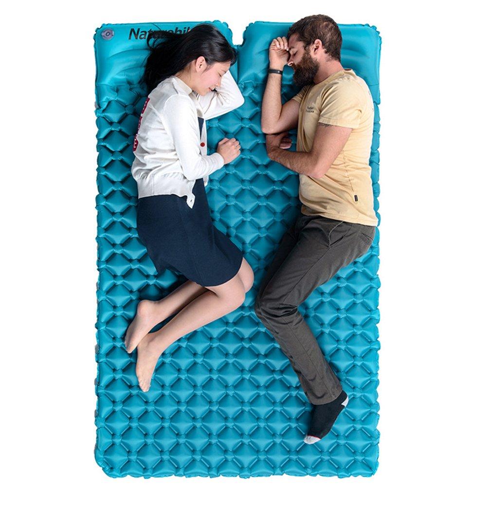 Cutepet Selbstaufblasende Isomatte Wasserabweisend und Rutschfest Schlafmatte Luftbett Für Camping Komfort