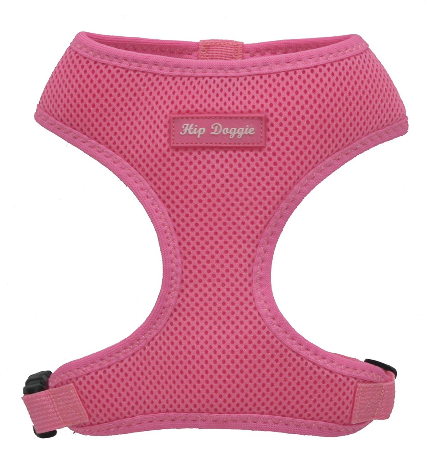 Hip Doggie Award Winning, Ultra Comfort Pink Mesh Harness Vest XS