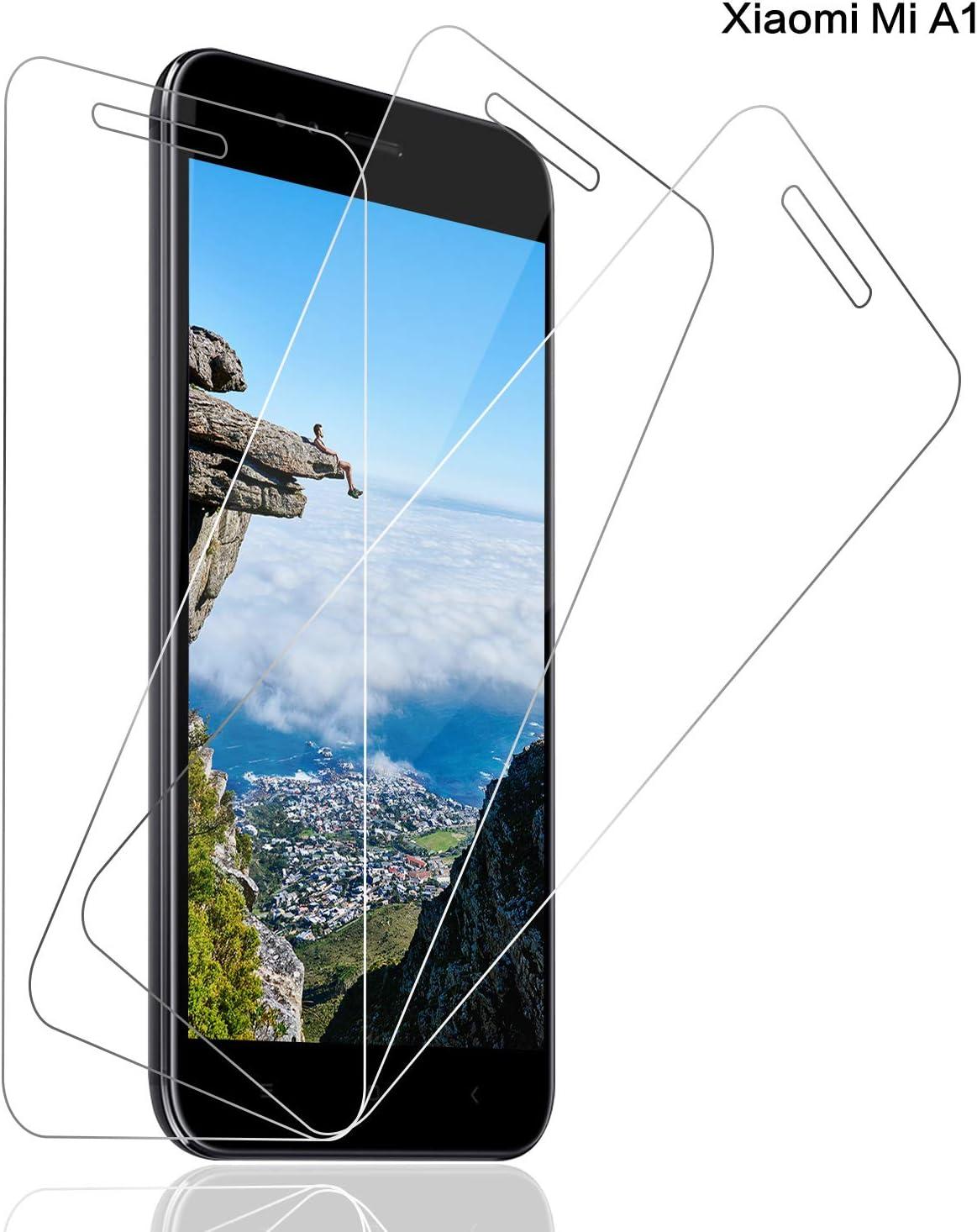 SNUNGPHIR® [3 PCS Xiaomi Mi A1 Cristal Vidrio Templado Protector ...