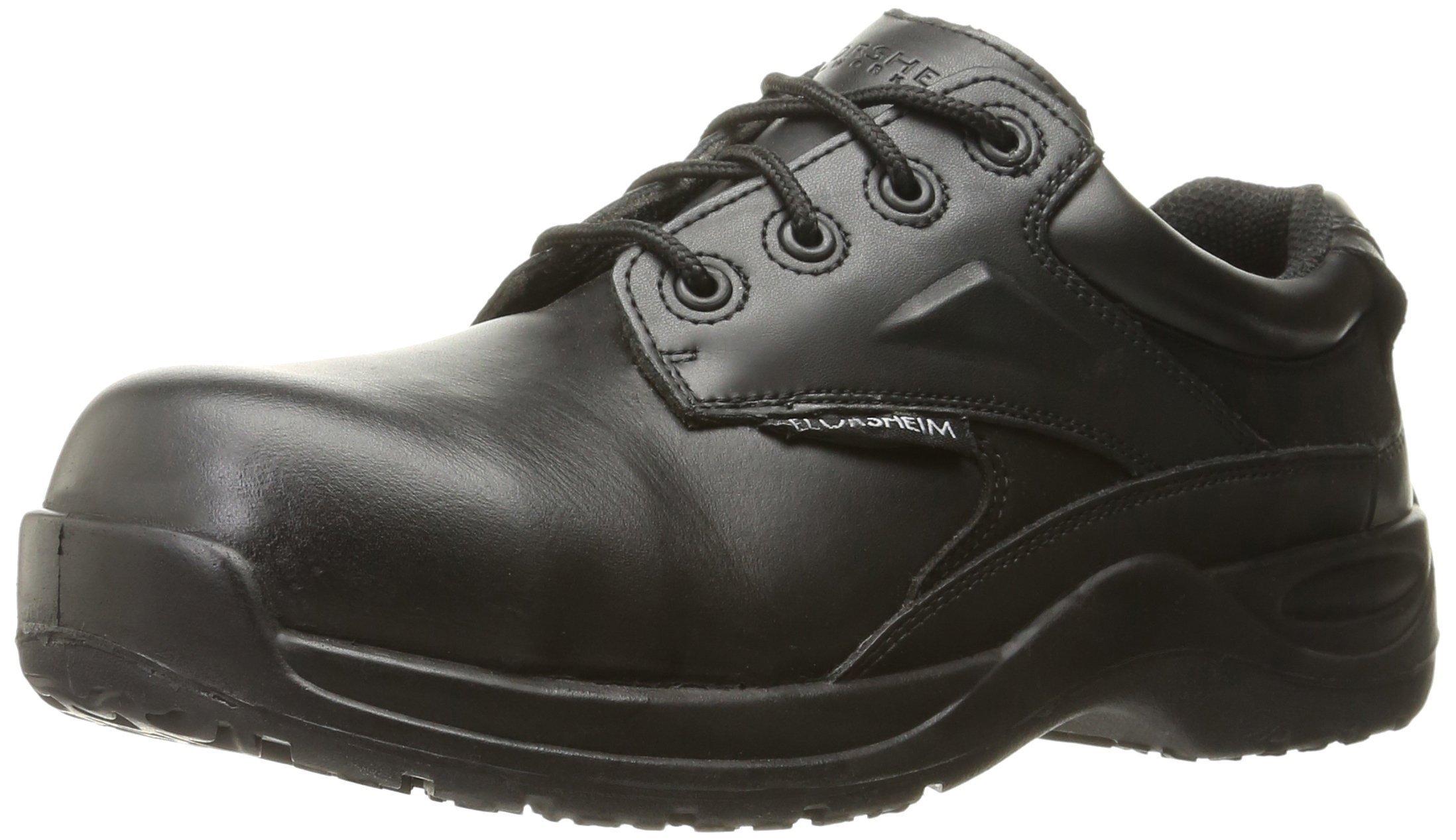 Florsheim Work Men's Vaquero FS2716 Work Shoe, Black, 13 D US