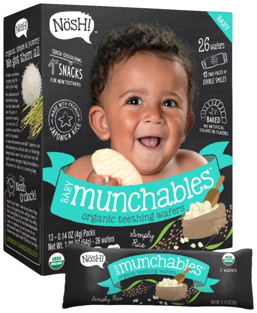 NOSH Baby Munchables Pomegranate & Blueberry, 6 Pack, 907g