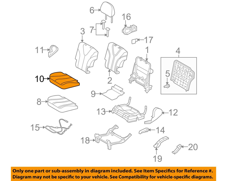 TOYOTA Genuine 71076-0T011-C0 Seat Cushion Cover