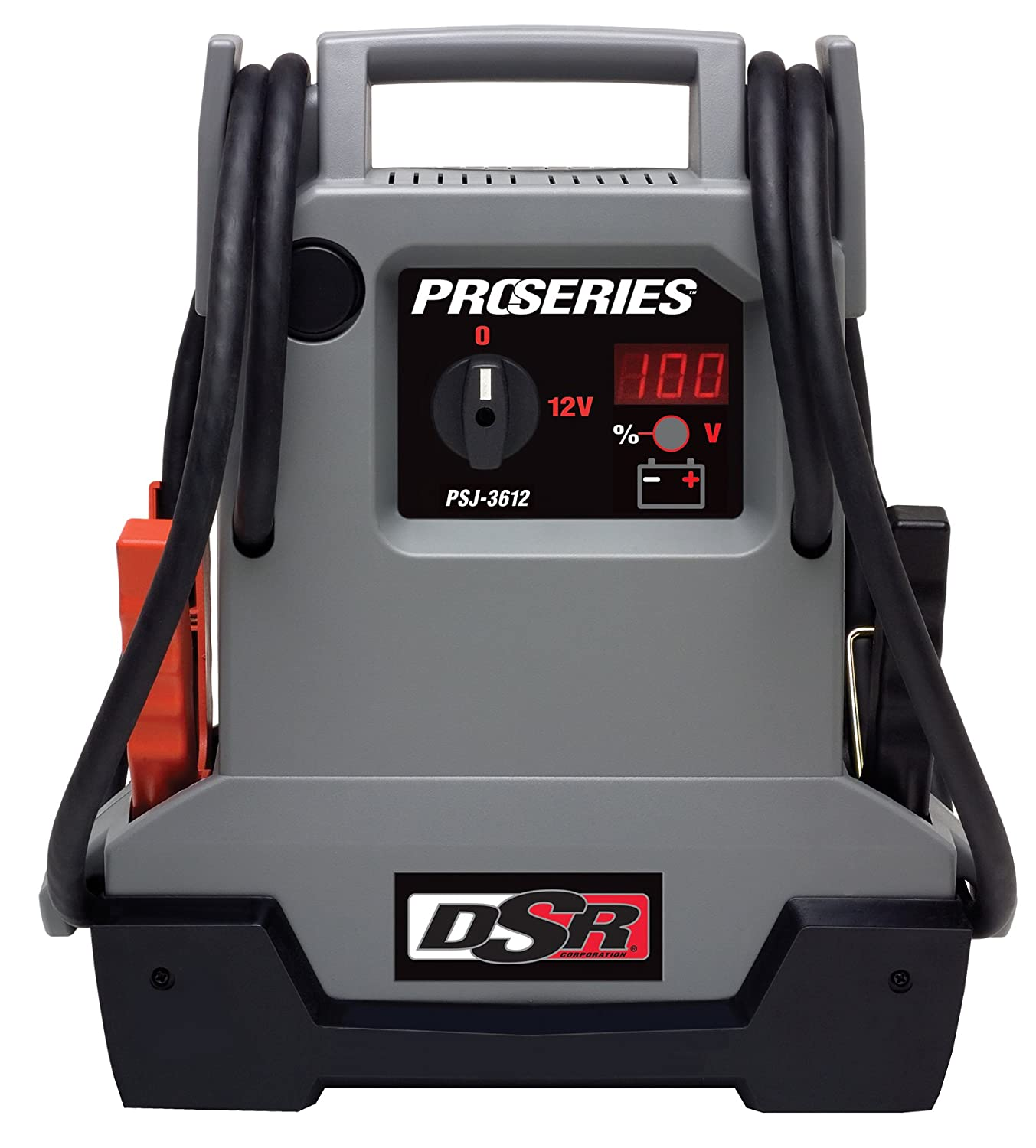 Schumacher PSJ-3612 DSR ProSeries 3600 Peak Amps Jump Starter and Portable Power Unit