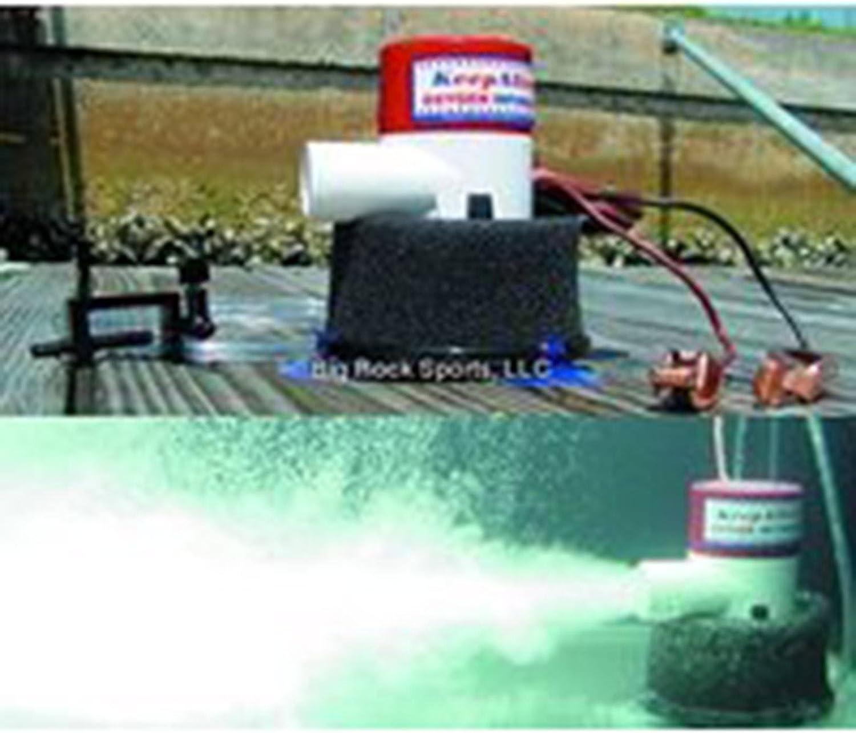 12V ATTWOOD TSUNAMI T500 LIVE WELL AERATOR PUMP BOAT BAIT TANK WATER BILGE PUMP