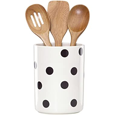 Kate Spade New York 856734 Scatter Dot utensil crock