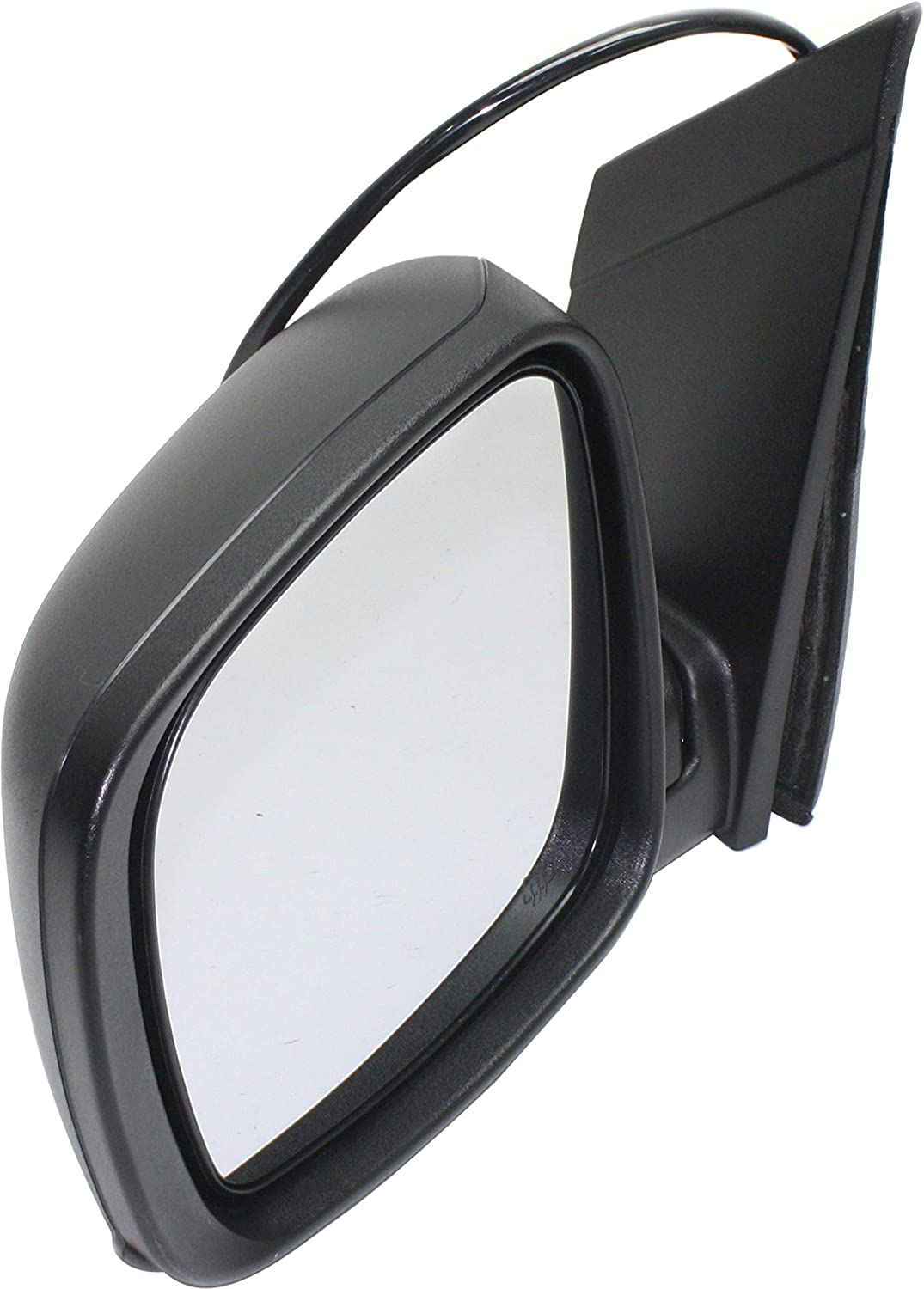Mirror Compatible with 2008-2019 Dodge Grand Caravan Power Manual Folding Heated with One Touch Feature Textured Black Driver Side