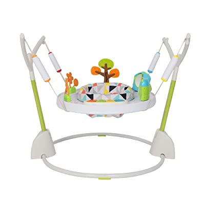 COLOR TREE Baby Activity Jumper and Bouncer with Lights, Melodies, and Einstein Toys,Foldaway Jumper for Baby Girls Boys: Toys & Games