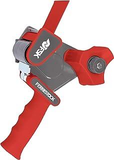 ferrestock fsktad002rd reggettatrice manuale Tipo pistola con Manico ergonomico per imballaggio, colore rosso