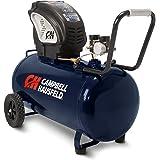 Air Compressor, Portable, Horizontal, 20 Gallon, Oil-Free, 4 CFM @ 90 PSI, 150 PSI (Campbell Hausfeld  DC200000)